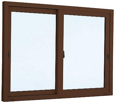 【福井県内のみ販売商品】YKKAP 引き違い窓 エピソード[複層防音ガラス] 2枚建 半外付型[透明4mm+透明3mm]:[幅2550mm×高1370mm]