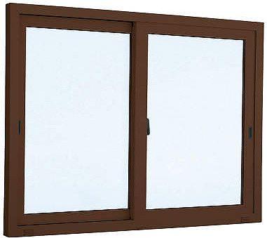 [福井県内のみ販売商品]YKKAP 引き違い窓 エピソード[複層防音ガラス] 2枚建 半外付型[透明5mm+透明3mm]:[幅2600mm×高1370mm]