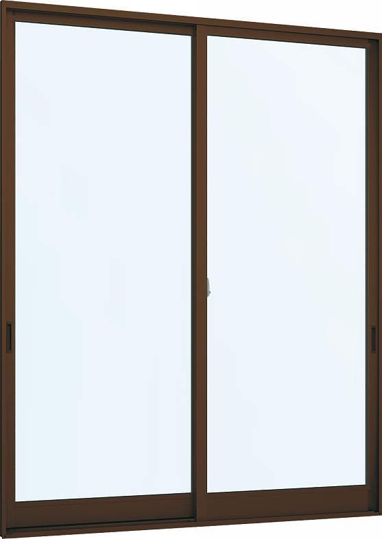 YKKAP窓サッシ 引き違い窓 フレミングJ[複層防犯ガラス] 2枚建 半外付型[透明4mm+合わせ透明7mm]:[幅1690mm×高2230mm]【YKKアルミサッシ】【防犯フィルム】【合わせガラス】【2重ガラス】