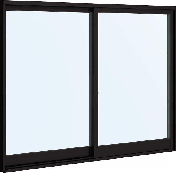 YKKAP窓サッシ 引き違い窓 フレミングJ[複層防犯ガラス] 2枚建 外付型[透明3mm+合わせ透明7mm]:[幅1387mm×高1103mm]【YKKアルミサッシ】【防犯フィルム】【合わせガラス】【2重ガラス】