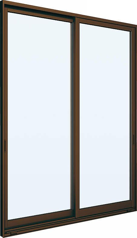 YKKAP窓サッシ 引き違い窓 エピソード[Low-E複層ガラス] 2枚建 2×4工法[単純段差下枠仕様]:[幅1640mm×高1860mm]【アルミサッシ】【引違い窓】【樹脂サッシ】【断熱サッシ】【ペアガラス】
