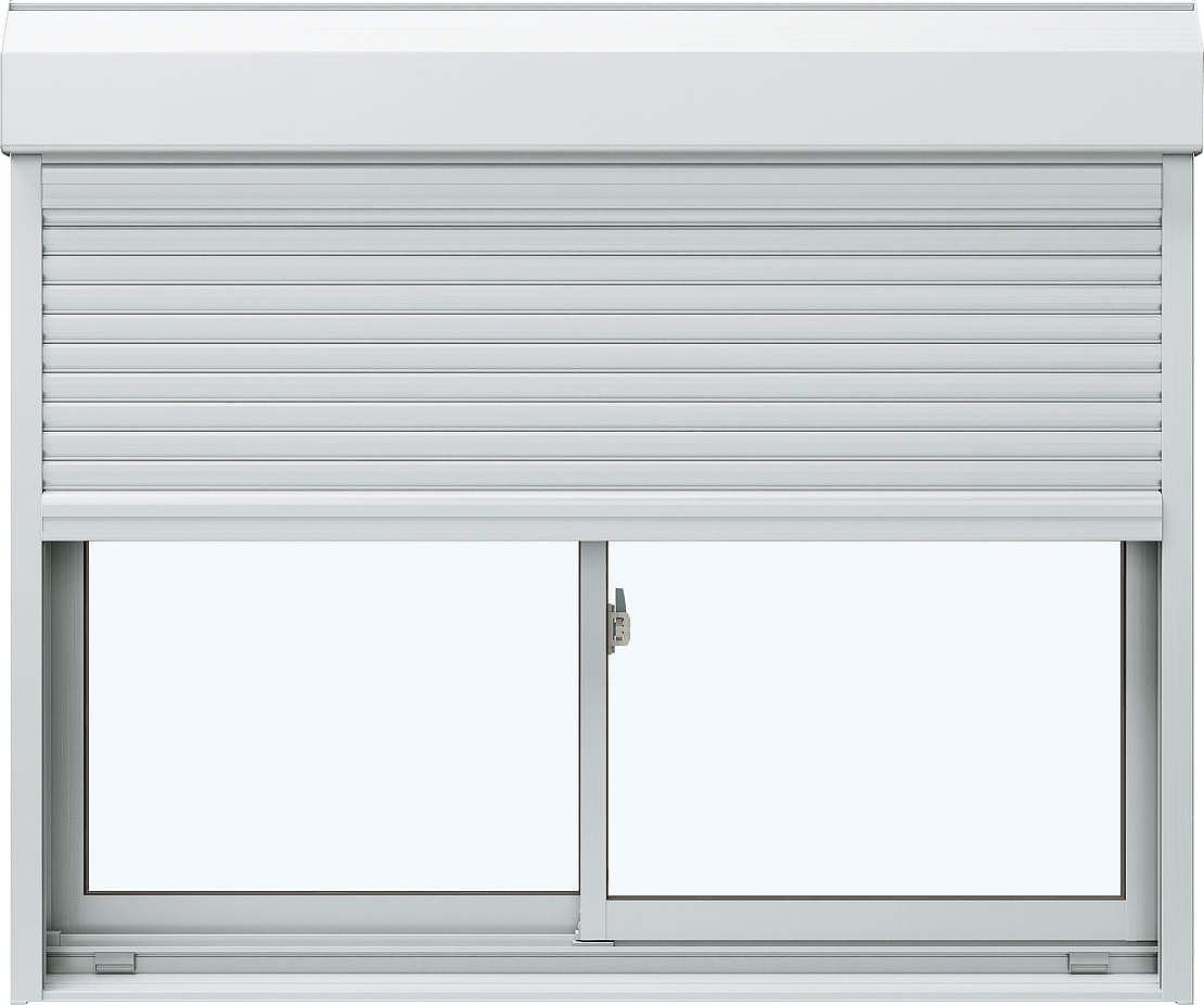 超熱 YKKAP窓サッシ 引き違い窓 エピソード[Low-E複層ガラス] 2枚建[シャッター付] スチール[外付型]:[幅1722mm×高1353mm]:ノース 引き違い窓&ウエスト, クラリス:f47093a4 --- fricanospizzaalpine.com
