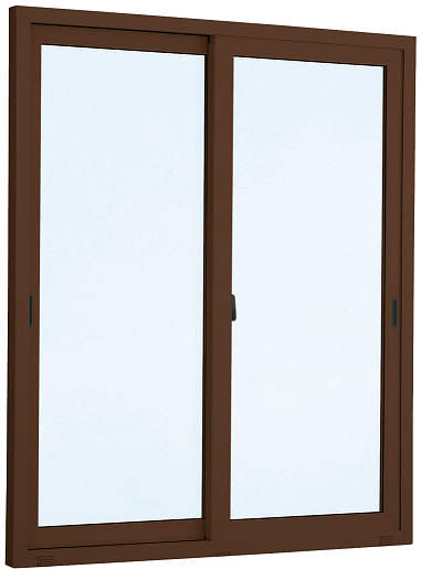 YKKAP窓サッシ 引き違い窓 エピソード[複層防犯ガラス] 2枚建 半外付型[型4mm+合わせ透明7mm]:[幅1370mm×高1830mm]【YKKアルミサッシ】【樹脂サッシ】【断熱サッシ】【防犯合せガラス】【ペアガラス】
