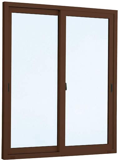 [福井県内のみ販売商品]YKKAP 引き違い窓 エピソード[複層防犯ガラス] 2枚建 半外付型[透明4mm+合わせ透明7mm]:[幅2600mm×高2030mm]