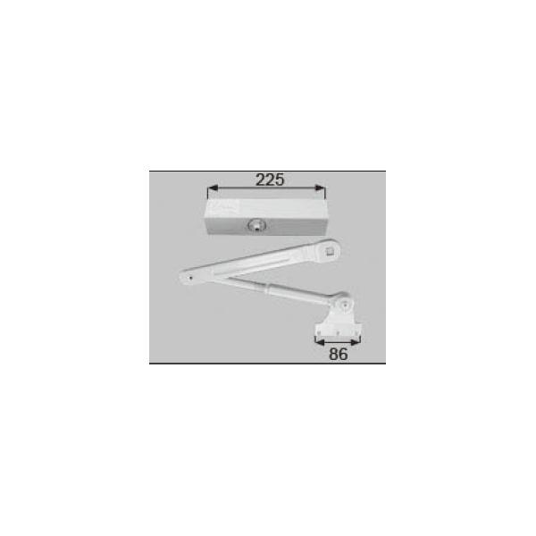 LIXIL補修用部品 ドア・引戸用部品 ドアクローザ 玄関・店舗・勝手口・テラスドア:ドアクローザ[L1X14]【リクシル】【TOSTEM】【トステム】【アルミドア】【ドアチェック】