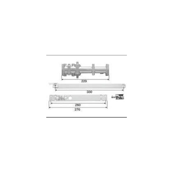 LIXIL補修用部品 ドア・引戸用部品 ドアクローザ 玄関・店舗・勝手口・テラスドア:ドアクローザ[DGBZ905]【リクシル】【TOSTEM】【トステム】【アルミドア】【ドアチェック】