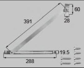 LIXIL補修用部品 窓・サッシ用部品 その他 ストッパー:アームストッパー[FNMZ091]【リクシル】【TOSTEM】【トステム】