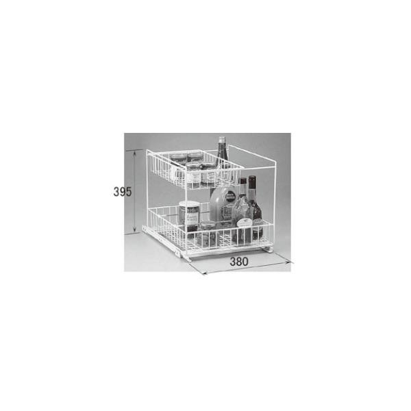 LIXIL補修用部品 住器用部品 キッチン キャビネット キャビネットオプション:スライドボトル立て 45[KKBZZ127]【リクシル】【TOSTEM】【トステム】【収納】
