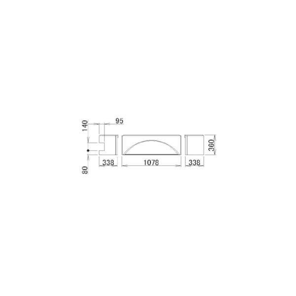 LIXIL補修用部品 住器用部品 バスルーム 浴槽 浴槽エプロン:浴槽エプロン 1717(L)[RMFS702]【リクシル】【TOSTEM】【トステム】【浴槽】【エプロン】