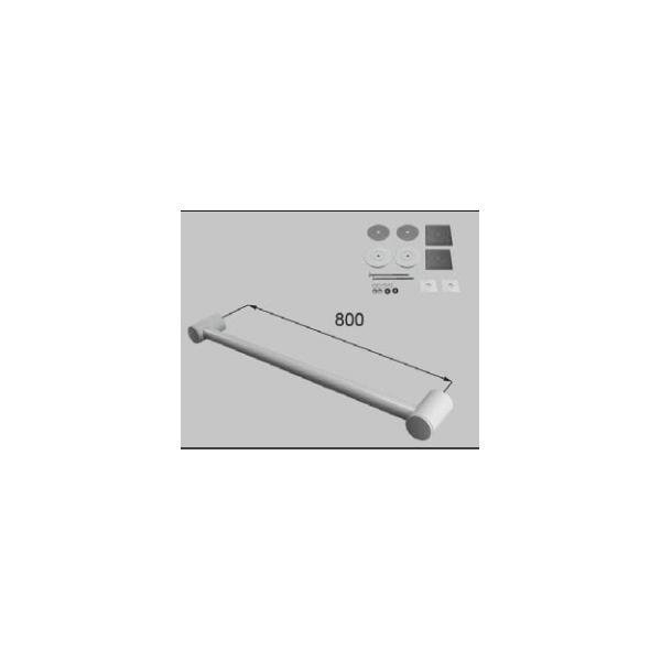 LIXIL補修用部品 住器用部品 バスルーム 器具 握りバー・タオル掛け:樹脂製ニギリバーI型 800[RTZZ007]【リクシル】【TOSTEM】【トステム】【手すり】
