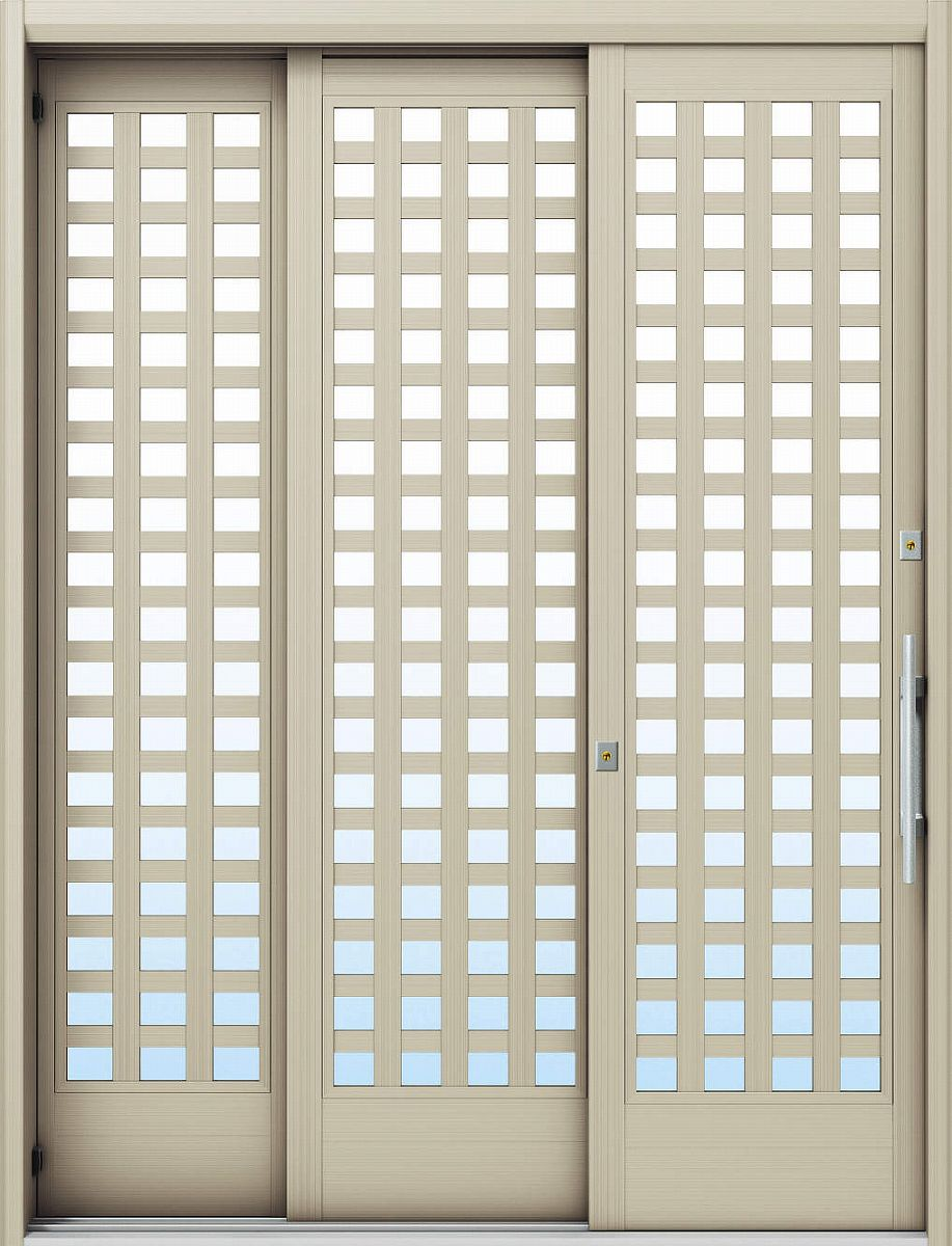 YKKAP玄関 玄関引戸 れん樹[大開口引戸] 6尺袖付2枚建[ランマ通し][標準仕様] Y03[アルミ色]:単板ガラス[幅1640mm×高2230mm]【ykk】【YKK玄関引き戸】【引き戸】【バリアフリ-】【玄関戸】【玄関建具】【玄関ドア引戸】【車いす対応】