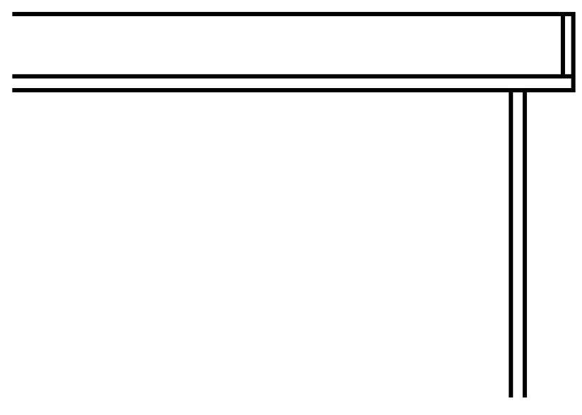 YKKAPウォールエクステリア テラス屋根 6TC 積雪~100cm地域用[関東間] 多連結ユニット:奥行1170mm 2間[幅3658mm]【YKK】【波板屋根】【アルミテラス】【波板テラス】