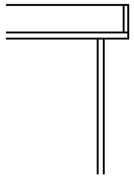 YKKAPウォールエクステリア テラス屋根 6TC 積雪~20cm地域用[九州・四国間] 多連結ユニット:奥行1770mm 1間[幅1932mm]【YKK】【波板屋根】【アルミテラス】【波板テラス】