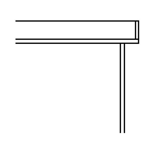 YKKAPウォールエクステリア テラス屋根 6TC 積雪~100cm地域用[九州・四国間] 多連結ユニット:奥行1470mm 1.5間[幅2887mm]【YKK】【波板屋根】【アルミテラス】【波板テラス】