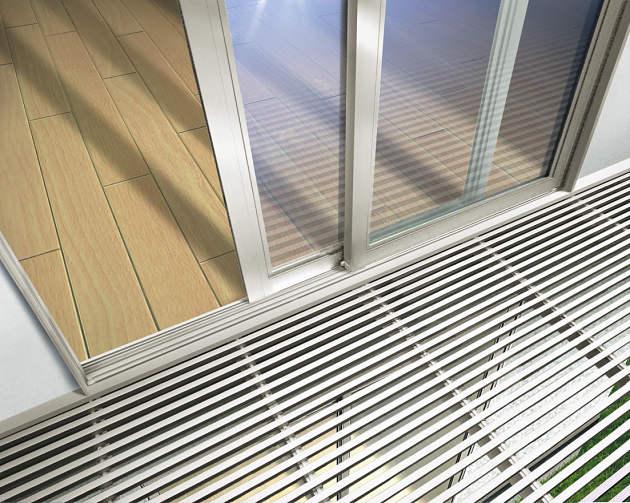 適切な価格 ウォールエクステリア YKKAPオプション サニースルー[九州・四国間][幅5774mm]:ノース&ウエスト バルコニー バルコニーBC-X型:アルミ製採光デッキ材-木材・建築資材・設備