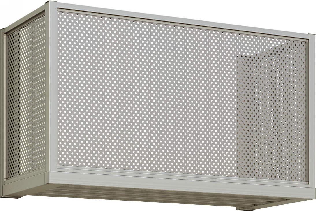 激安特価 YKKAP窓まわり エアコン室外機置き パンチングパネル:出幅450mm[幅2000mm×高600mm]:ノース&ウエスト, 世羅町:476e192d --- fricanospizzaalpine.com