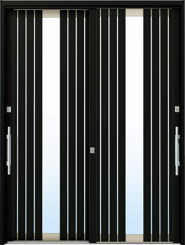 YKKAP玄関 リフォーム玄関引戸 ドアリモ[現代和風] C05[ランマ無] アルミ色[複層ガラス]:[幅1690mm×高1950mm]【YKK】【ドアリモ】【玄関引き戸】【取替】【交換】【DIY】【玄関リフォーム】