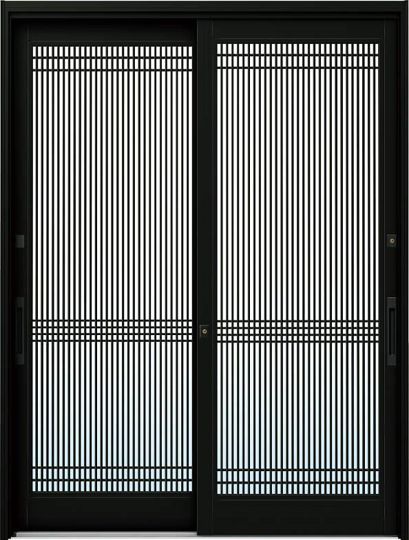 YKKAP玄関 リフォーム玄関引戸 ドアリモ[伝統和風] A05[ランマ無] アルミ色[複層ガラス]:[幅1690mm×高1950mm]【YKK】【ドアリモ】【玄関引き戸】【取替】【交換】【DIY】【玄関リフォーム】