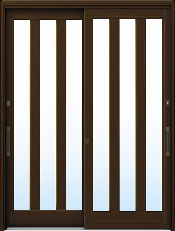 YKKAP玄関 リフォーム玄関引戸 ドアリモ[伝統和風] A07[ランマ無] アルミ色[複層ガラス]:[幅1690mm×高1950mm]【YKK】【ドアリモ】【玄関引き戸】【取替】【交換】【DIY】【玄関リフォーム】