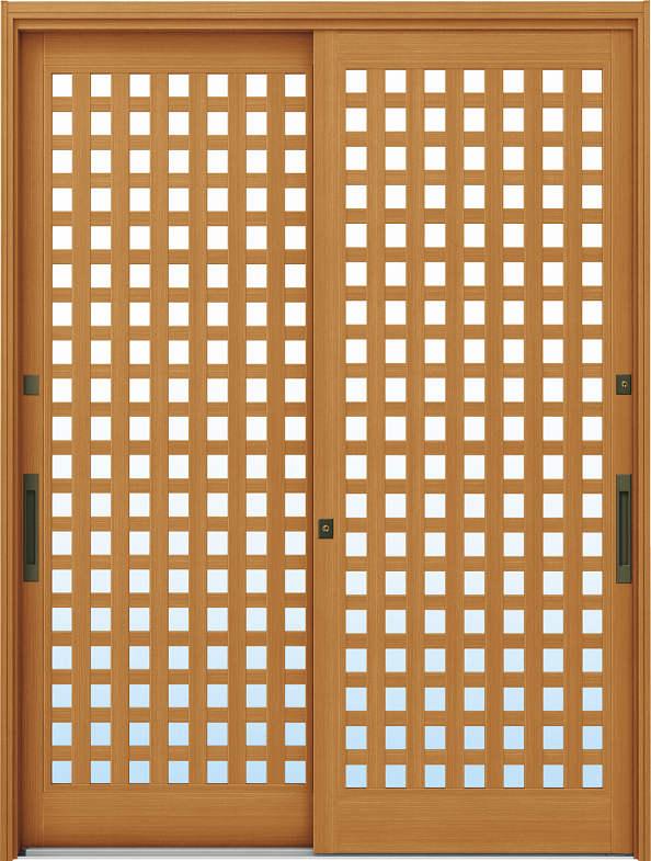 YKKAP玄関 リフォーム玄関引戸 ドアリモ[伝統和風] A11[ランマ無] 木目柄[複層ガラス]:[幅1690mm×高1950mm]【YKK】【ドアリモ】【玄関引き戸】【取替】【交換】【DIY】【玄関リフォーム】