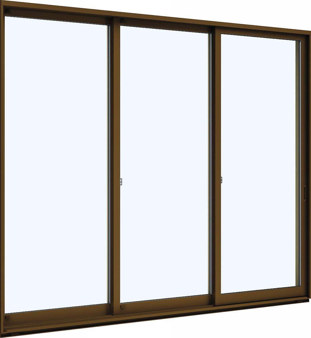 YKKAP窓サッシ 引き違い窓 エピソード[複層ガラス] 3枚建 半外付型:[幅2550mm×高2030mm]