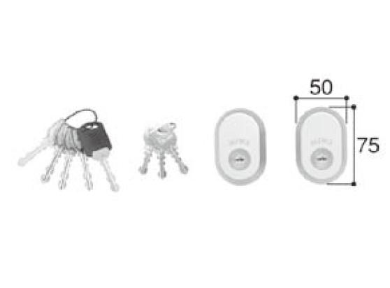 LIXIL補修用部品 新日軽ブランド部品 ドア・引戸・内装材 ハンドル・クレセント・錠類 シリンダー:(一般仕様UR)シリンダー(60mm)[A8DL1507]【ドア】【錠】【鍵】【鍵穴】