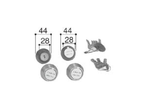 LIXIL補修用部品 新日軽ブランド部品 ドア・引戸・内装材 ハンドル・クレセント・錠類 シリンダー:PSシリンダーセット((40mm)アリッツクラス同一キーセット)[A8SD1231]【ドア】【錠】【鍵】【鍵穴】