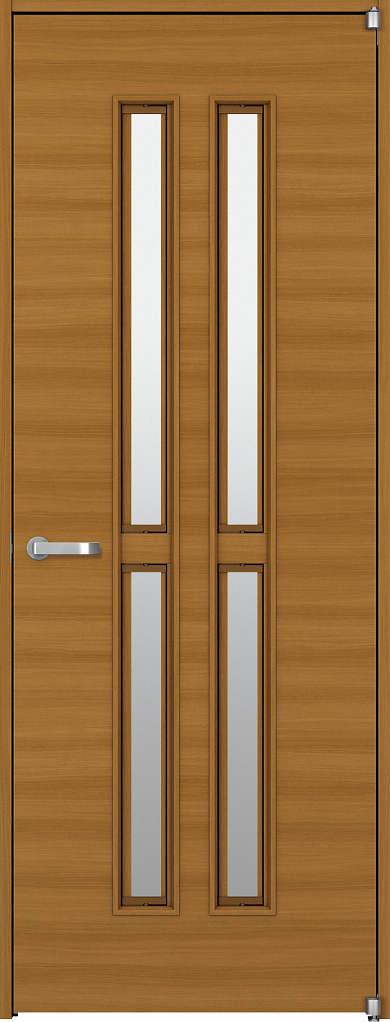 YKKAP機能ドア ラフォレスタ[通風ドア][木目横] Y5 ノンケーシング枠:[幅733mm×高2033mm]