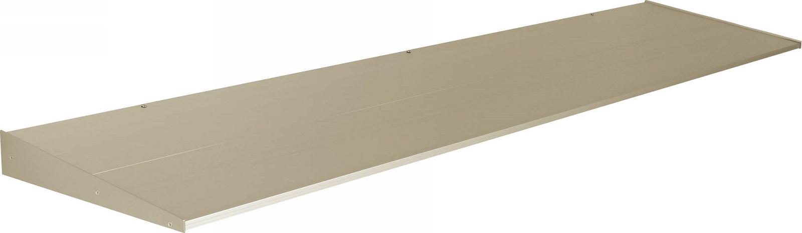 YKKAP窓まわり ひさし コンバイザー モダンスタイル 出幅400mm:先付・後付兼用[幅1440mm×高60mm]
