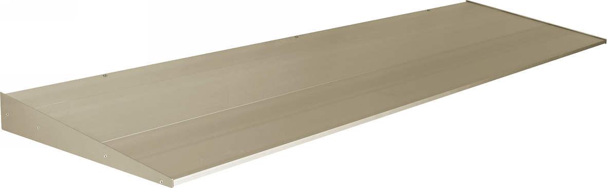 YKKAP窓まわり ひさし コンバイザー モダンスタイル 出幅500mm:先付・後付兼用[幅2490mm]