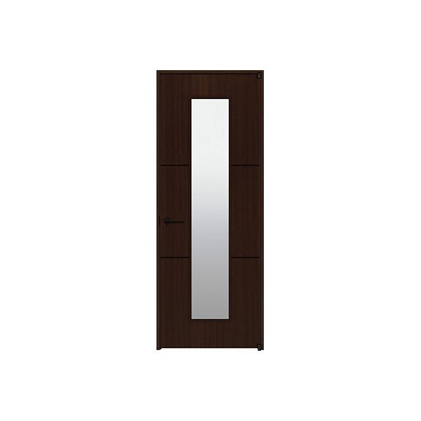 YKKAP室内ドア ラフォレスタ[スタイリッシュ][木目たて] 片開きドア T40 ノンケーシング枠:[幅823mm×高2033mm]
