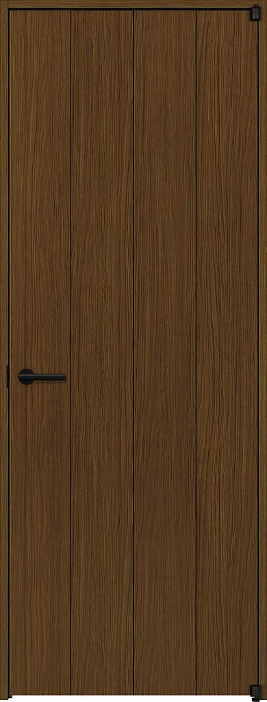 YKKAP室内ドア ラフォレスタ[スタイリッシュ][木目たて] 片開きドア T11 ケーシング枠:[幅823mm×高2033mm]