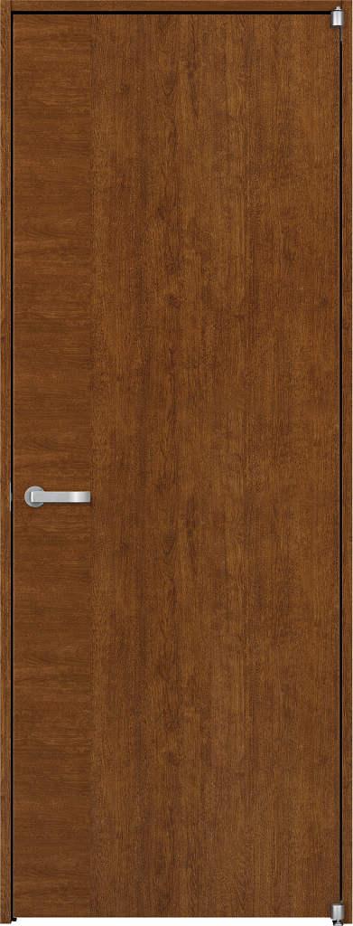 YKKAP室内ドア ラフォレスタ[スタイリッシュ][木目たて] 片開きドア T12 ケーシング枠:[幅823mm×高2033mm]