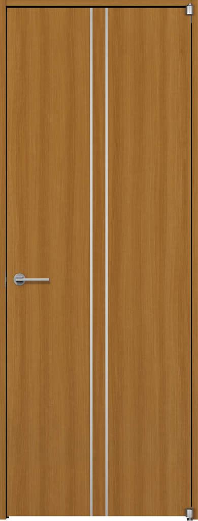 YKKAP室内ドア ラフォレスタ[スタイリッシュ][木目たて] 片開きドア T13 ケーシング枠:[幅752mm×高2033mm]