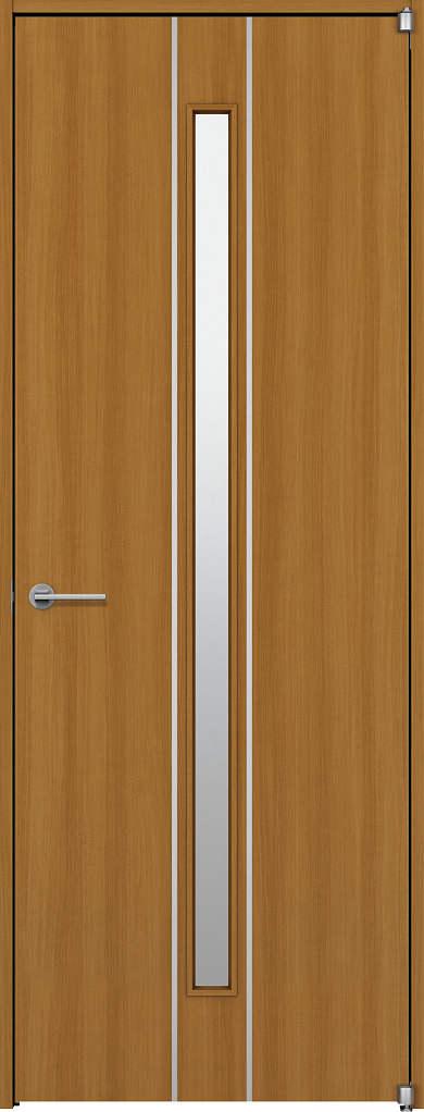 YKKAP室内ドア ラフォレスタ[スタイリッシュ][木目たて] 片開きドア T63 ケーシング枠:[幅878mm×高2033mm]