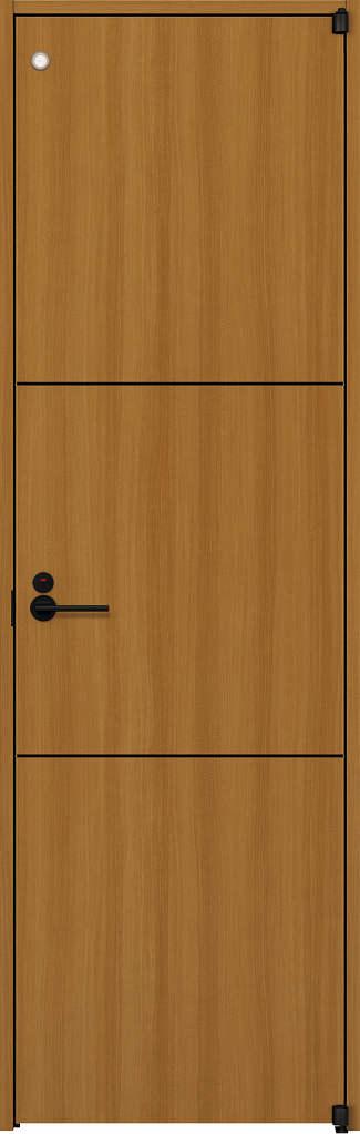 【2019 新作】 ノンケーシング枠:[幅733mm×高2033mm]:ノース&ウエスト ラフォレスタ[スタイリッシュ][木目たて] T10 YKKAP室内ドア トイレドア-木材・建築資材・設備