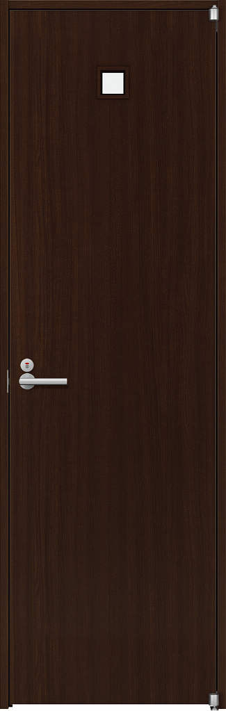 YKKAP室内ドア ラフォレスタ[スタイリッシュ][木目たて] トイレドア T80 ノンケーシング枠:[幅733mm×高2033mm]