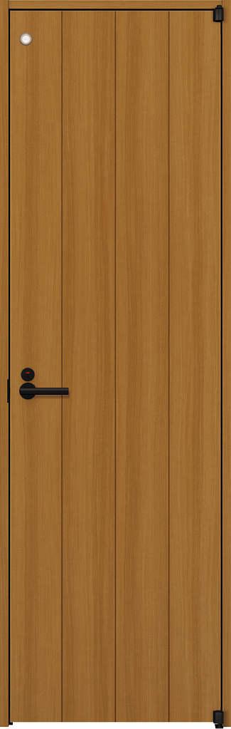YKKAP室内ドア ラフォレスタ[スタイリッシュ][木目たて] トイレドア T11 ケーシング枠:[幅778mm×高2033mm]
