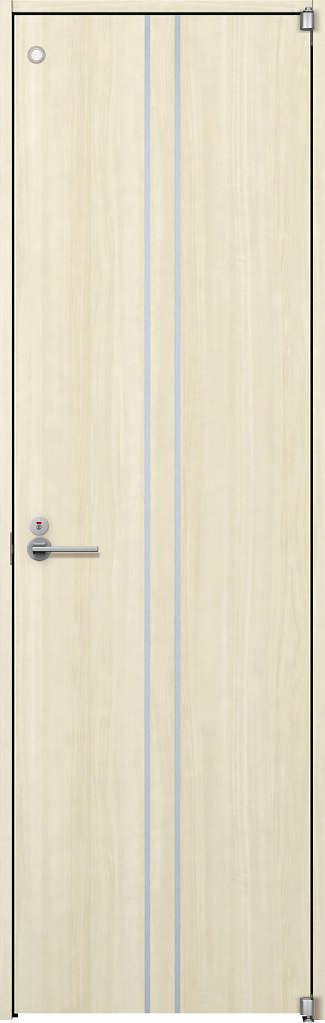 YKKAP室内ドア ラフォレスタ[スタイリッシュ][木目たて] トイレドア T13 ケーシング枠:[幅733mm×高2033mm]