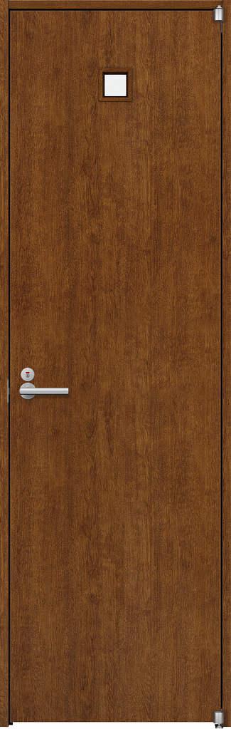 YKKAP室内ドア ラフォレスタ[スタイリッシュ][木目たて] トイレドア T80 ノンケーシング枠[集合住宅向け]:[幅648mm×高2033mm]