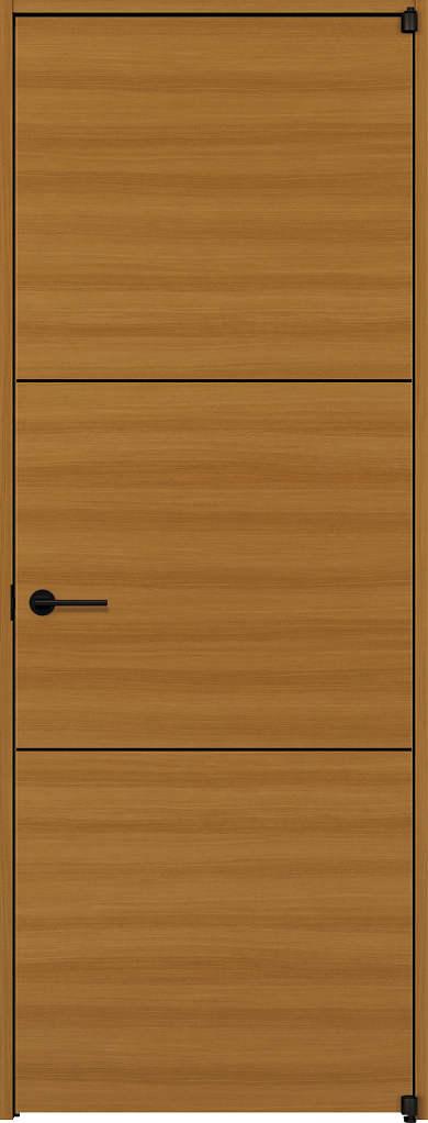 YKKAP室内ドア ラフォレスタ[スタイリッシュ][木目横] 片開きドア Y10 ノンケーシング枠:[幅778mm×高2033mm]