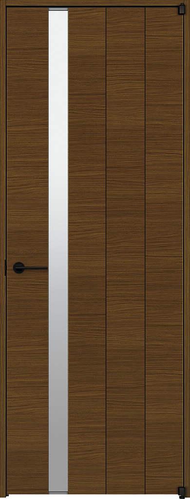 YKKAP室内ドア ラフォレスタ[スタイリッシュ][木目横] 片開きドア Y61 ノンケーシング枠:[幅878mm×高2033mm]