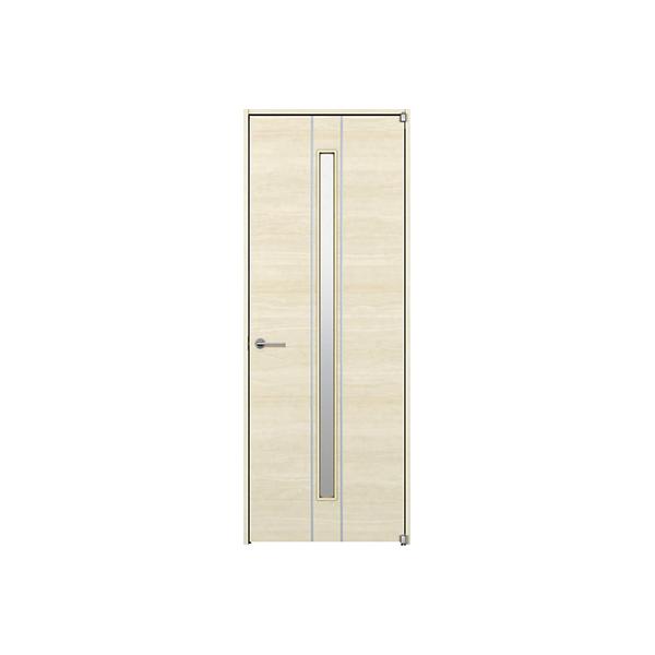 YKKAP室内ドア ラフォレスタ[スタイリッシュ][木目横] 片開きドア Y63 ノンケーシング枠:[幅878mm×高2033mm]