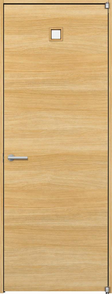 YKKAP室内ドア ラフォレスタ[スタイリッシュ][木目横] 片開きドア Y80 ノンケーシング枠:[幅752mm×高2033mm]
