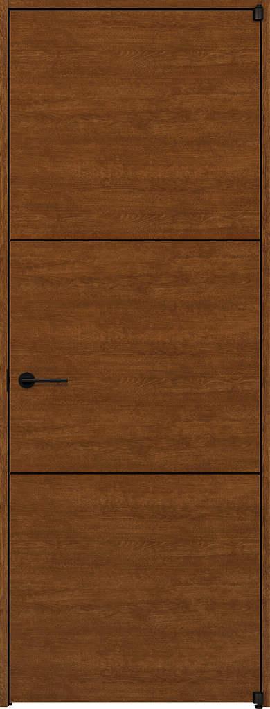 超特価激安 Y10 ケーシング枠:[幅752mm×高2033mm]:ノース&ウエスト 片開きドア ラフォレスタ[スタイリッシュ][木目横] YKKAP室内ドア-木材・建築資材・設備