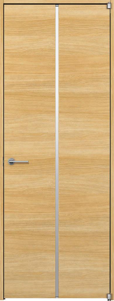 YKKAP室内ドア ラフォレスタ[スタイリッシュ][木目横] 片開きドア Y62 ノンケーシング枠[集合住宅向け]:[幅778mm×高2033mm]