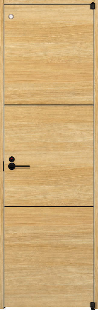 YKKAP室内ドア ラフォレスタ[スタイリッシュ][木目横] トイレドア Y10 ノンケーシング枠:[幅752mm×高2033mm]