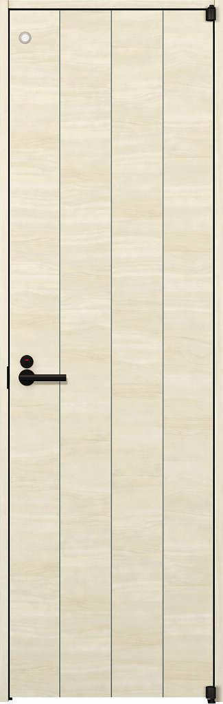 YKKAP室内ドア ラフォレスタ[スタイリッシュ][木目横] トイレドア Y11 ノンケーシング枠:[幅823mm×高2033mm]