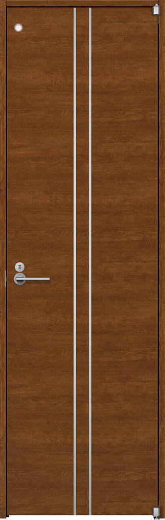 YKKAP室内ドア ラフォレスタ[スタイリッシュ][木目横] トイレドア Y13 ケーシング枠:[幅823mm×高2033mm]
