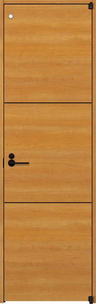 YKKAP室内ドア ラフォレスタ[スタイリッシュ][木目横] トイレドア Y10 ノンケーシング枠[集合住宅向け]:[幅778mm×高2033mm]